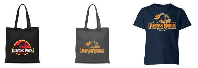 Jurassic Park Bundle T-Shirt + Tasche