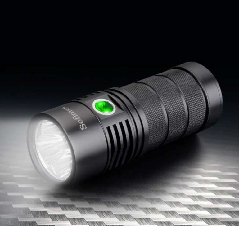Utorch Sofirn SP36 LED Taschenlampe mit 6000 Lumen für 40,92€ inkl. Versand