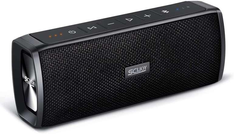 Scijoy wasserdichter Bluetooth Lautsprecher für 16€ inkl. Versand (statt 25€)