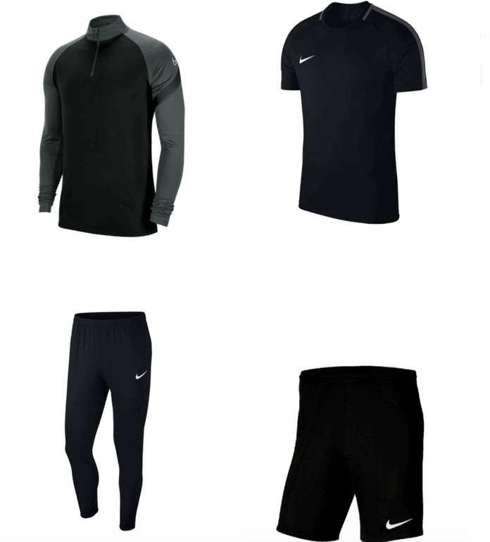 4-tlg. Nike Trainingsset Academy (Shirt, Short, Langarm Oberteil & Jogginghose) für 54,95€ (statt 70€)