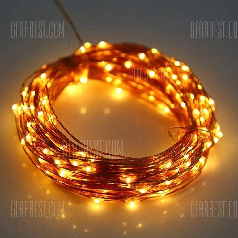 5m Utorch Lichterkette mit 50 LEDs für 1,81€ inkl. Versand