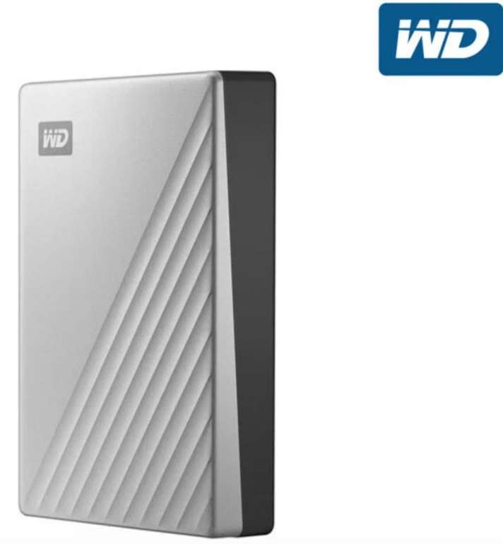 """WD My Passport Ultra - Externe Festplatte für Mac (4 TB, HDD, 2.5"""", USB-C) nur 105,90€ inkl. Versand"""
