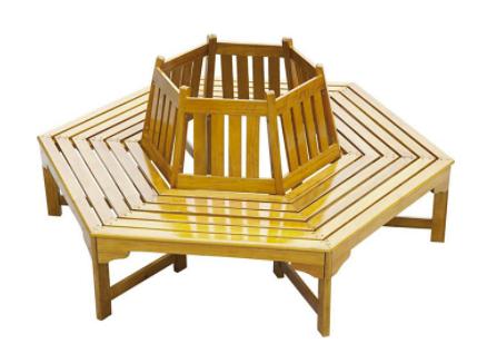 "Garden Pleasure Baumbank ""Ontario"" aus Berangan Holz für 199,99€inkl. Versand (statt 222€)"
