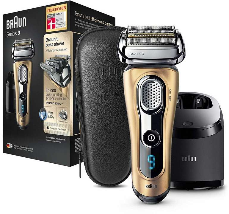 Braun Series 9 9299cc Wet & Dry Elektrorasierer für 199€ inkl. Versand (statt 275€)