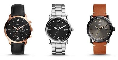 50% Rabatt auf Alles bei Fossil z.B. günstige Uhren, Taschen, Schmuck uvm.