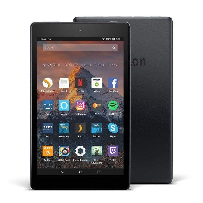 Amazon Fire HD 8 Tablet (2018) mit Alexa und 16GB Speicher für 49,99€ inkl. Versand (statt 65€)