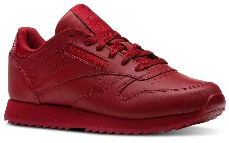 Reebok Sommer Sale + 3 für 2 Aktion - z.B. Classic Leather Ripple Sneaker 44,98€