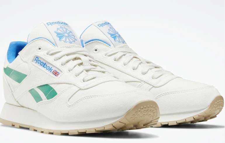 Reebok Classic Leather Grow Schuhe in Weiß für 27,96€ inkl. Versand (statt 59€)