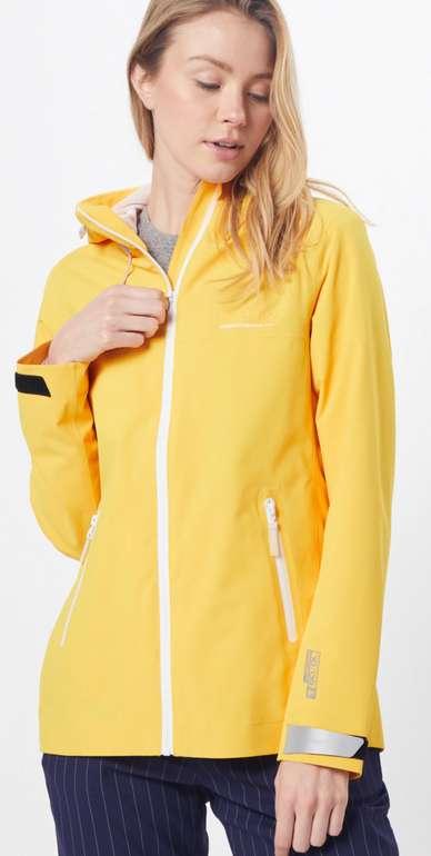 """Superdry Regenjacke """"Essentials Harpa"""" in gelb für 44,94€ inkl. Versand (statt 65€)"""