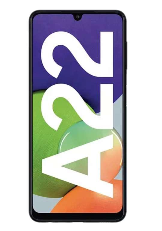 Samsung Galaxy A22 mit 128 GB Black Dual SIM mit für 189€ inkl. Versand (statt 233€) - Newsletter