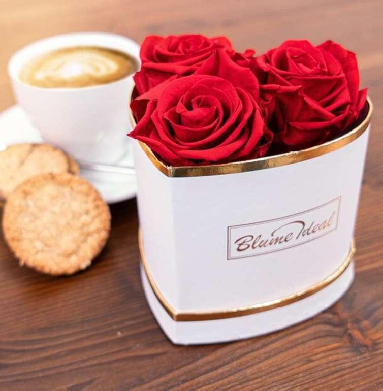 "Rosenbox ""Valentine Lovebox"" mit 3 Infinity Rosen für 34,73€ inkl. Versand"