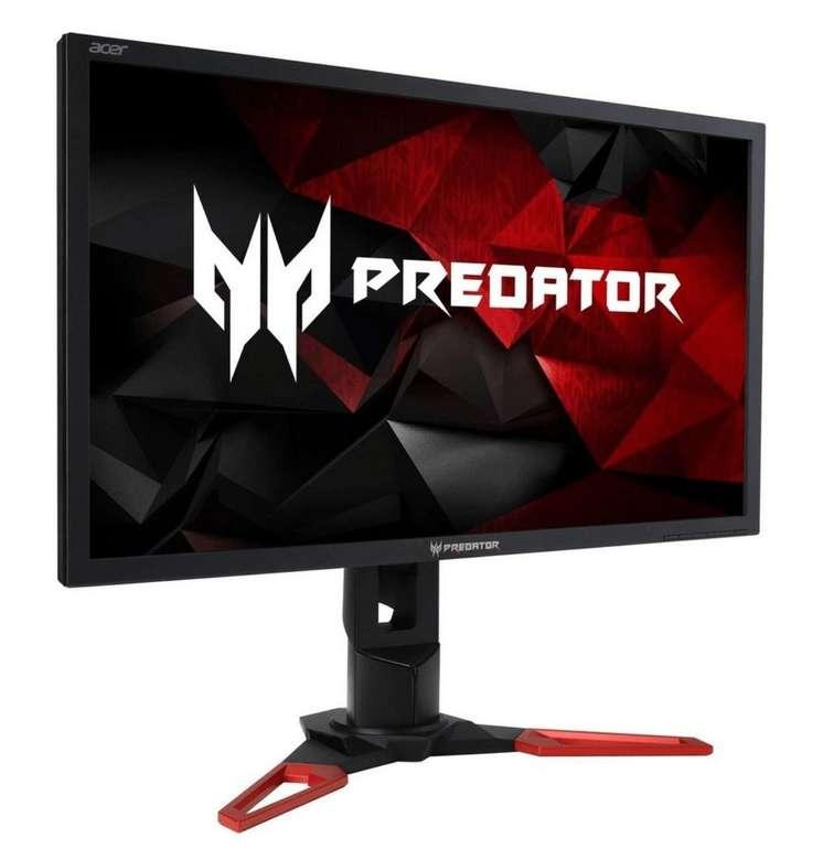 Acer Predator XB271HK LED-Monitor in schwarz/rot, NVIDIA G-Sync, UltraHD, IPS für 505,99€ inkl. Versand (statt 578€)