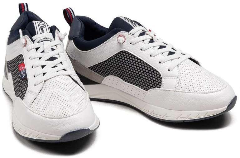s.Oliver 5-13611-26 White 100 Herren Sneaker für 33€ inkl. Versand (statt 40€)