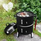 Smoker + Grill (Ø 30 cm, Thermometer, Smokerhaken) für 27,94€ inkl. Versand