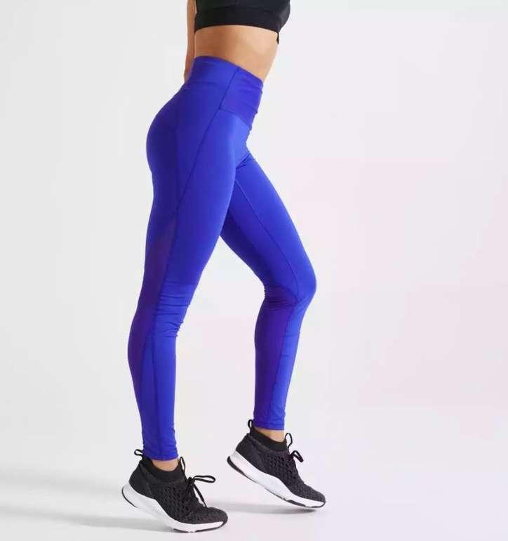 Domyos Leggings mit hohem Taillenbund (figurformend, mit Smartphone Tasche) für 13,98€ (statt 22€)