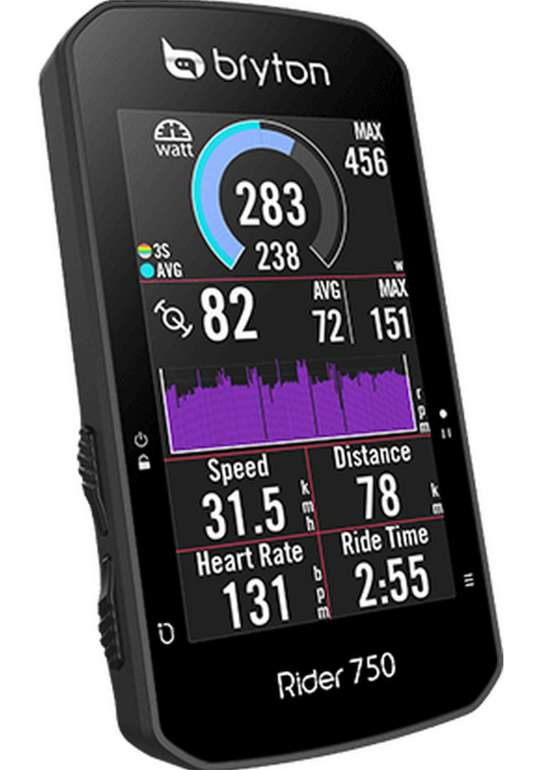 Bryton Rider 750E GPS-Fahrradcomputer für 195,90€ inkl. Versand (statt 235€)