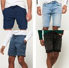 Neue Herren Superdry Shorts in versch. Modellen und Farben ab 23,95€