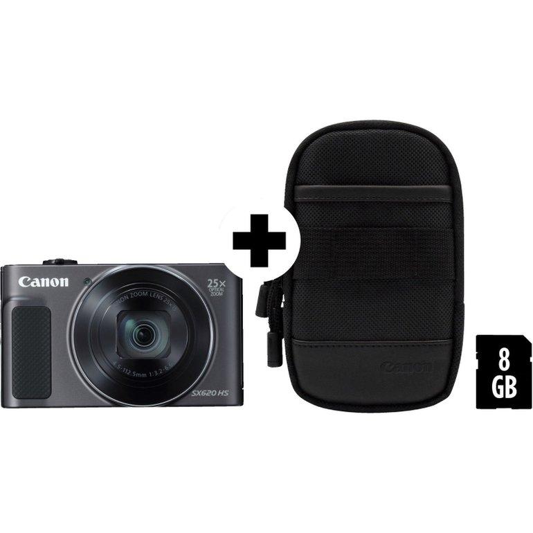 Canon Powershot SX620 HS Digitalkamera + Tasche & SD Karte für 133€ (statt 195€)