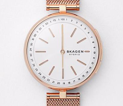 Skagen: 30% Rabatt auf ausgewählte Damen Modelle, z.B. Hybrid Smartwatch ab 69€