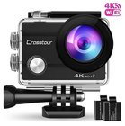 Top! Crosstour - 4K Sport Action Cam (30M Wasserdicht, WiFi) zu 38,49€ inkl. VSK