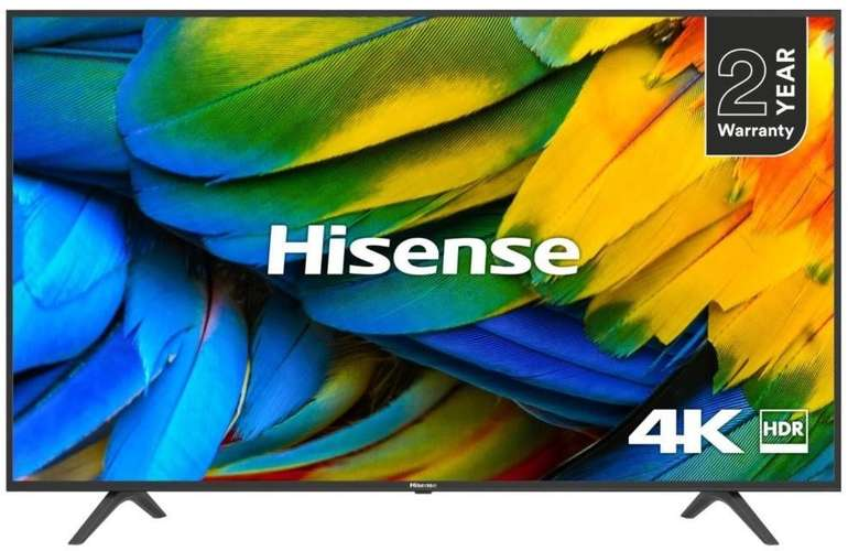 "Hisense H55B7100 - 55"" Smart TV (4K UHD, LED) für 333€ inkl. Versand"