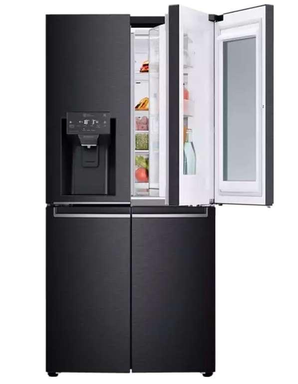 LG GMX844MCKV French Door Kühlgefrierkombination (F, 1787 mm hoch, Matt Black Stainless) für 1474,05€