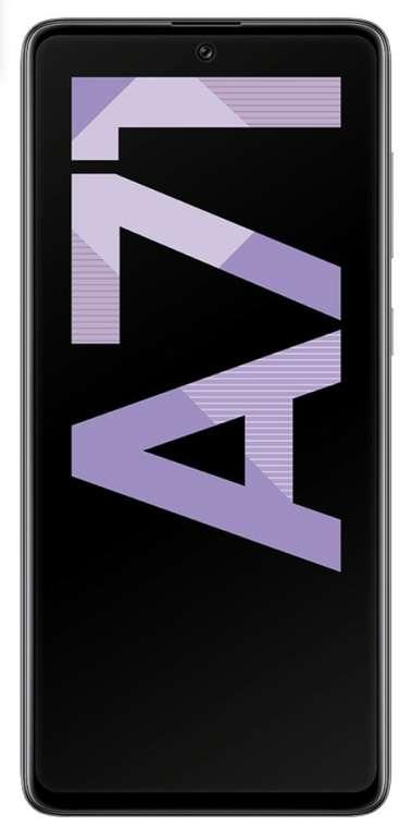 Samsung Galaxy A71 mit 128GB Speicher (1€) + o2 Free S Allnet Tarif mit 3GB LTE für 19,99€ mtl.