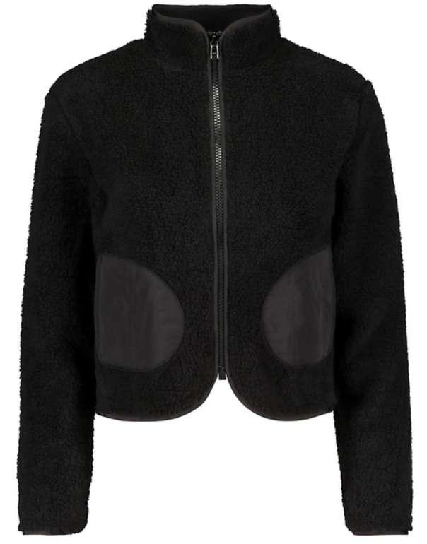 Tally Weijl Jacke aus Fleece in schwarz für 19,99€inkl. Versand (statt 40€)