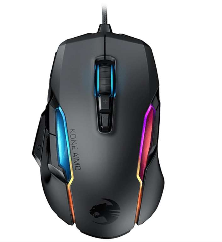 Roccat Kone Aimo - Gaming Maus in schwarz für 59€ inkl. Versand (statt 84€)