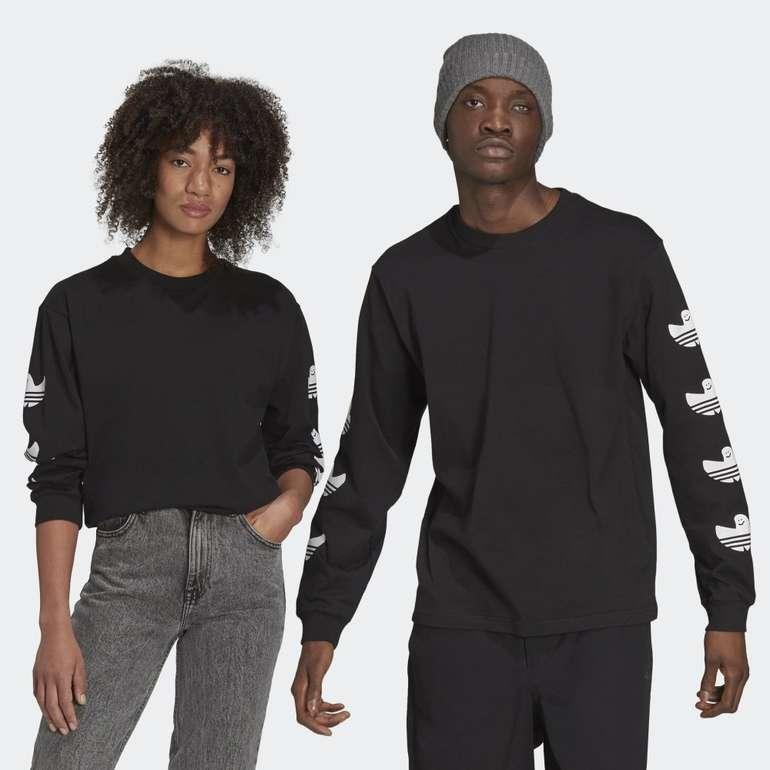 Adidas Originals Shmoofoil Logo Longsleeve (genderneutral) für 22,95€ inkl. Versand (statt 34€) - Creators Club