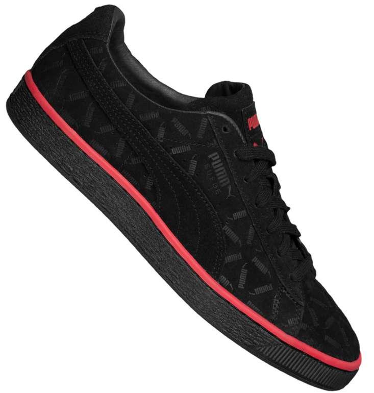 Puma Suede Classic Lux Sneaker in Schwarz für 43,94€inkl. Versand (statt 56€)