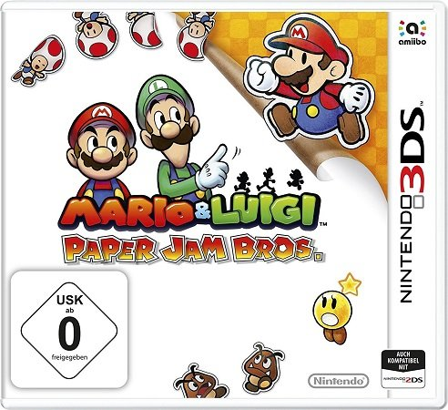 Mario und Luigi: Paper Jam Bros. - Nintendo 3DS für 9,99€ (statt 17,45€)