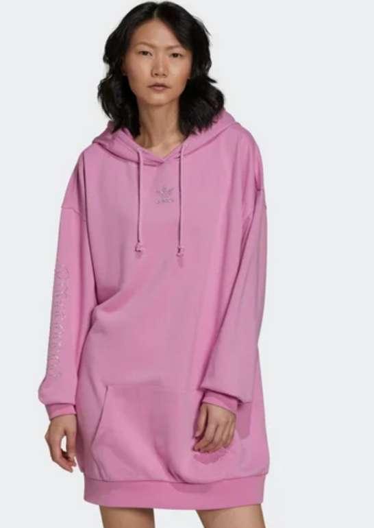 Adidas Hoodie Dress Step Into You für 49,99€ inkl. Versand (statt 60€)