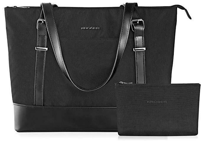 Kroser Damen Handtasche mit Laptopfach + Make Up Tasche für 19,49€ (Prime)