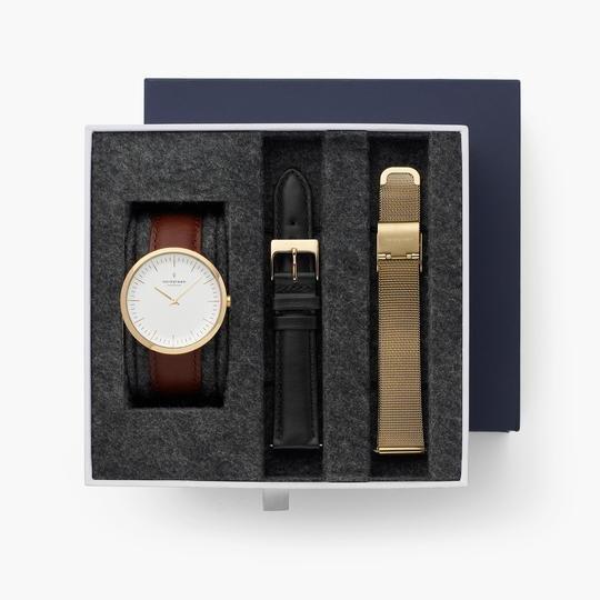 Nordgreen: 20% Rabatt alle Uhren-Geschenksets, z.B. Infinity Set Gold für 215,20€