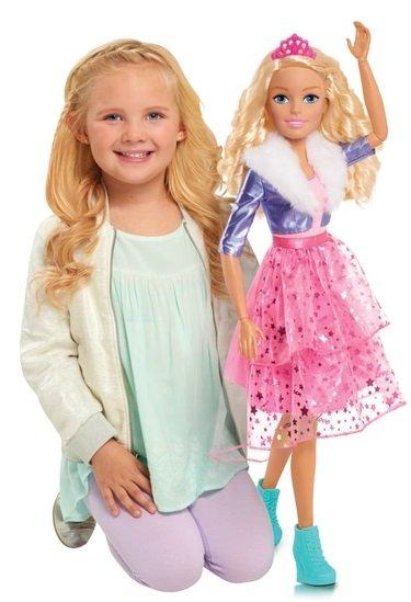 Barbie Princess Adventures Blond (ca. 70cm) für nur 49,99€ (statt 65€)