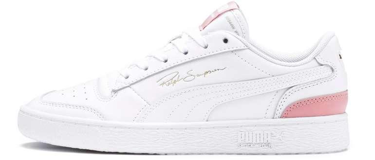 Puma Ralph Sampson Lo Sneaker in weiß-pink für 39,95€inkl. Versand (statt 50€)
