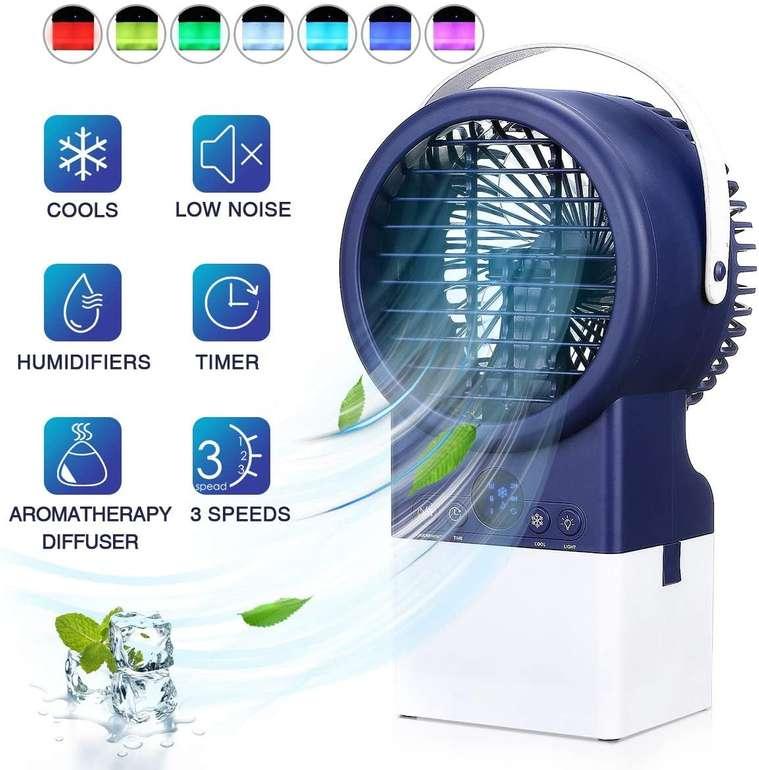 Jeteven Verdunstungskühler mit LED Beleuchtung für 35,19€ inkl. Versand (statt 50€)