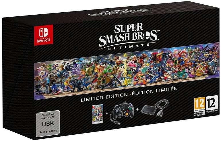 Super Smash Bros. Ultimate Limited Edition (Switch) für 92,97€ (statt 150€)