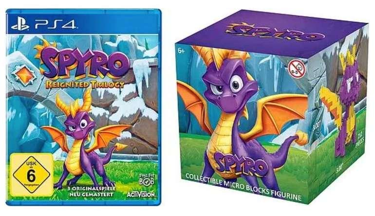 Spyro Reignited Trilogy (PS4) + Spyro Nanoblock für 15,49€ inkl. Versand (PayDirekt!)