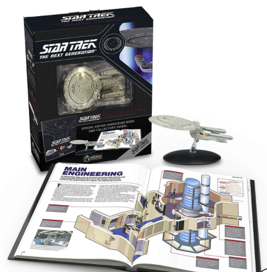 Eaglemoss Star Trek The Next Generation: The U.S.S. Enterprise NCC-1701-D Handbook für 18,38€ inkl. Versand (statt 47€)