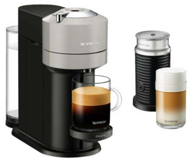 Krups XN 910B Nespresso Vertuo Next Kapselmaschine + Aeroccino 3 Milchaufschäumer für 62,91€ (statt 121€)