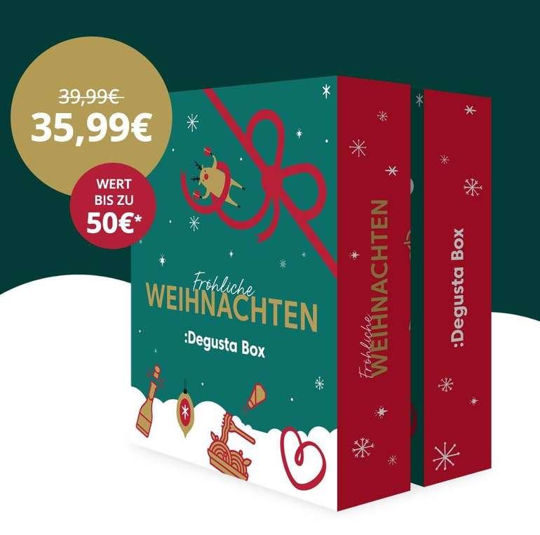 Degusta Box Adventskalender 2019 mit köstlichen Überraschungen für 28,79€ (statt 40€)