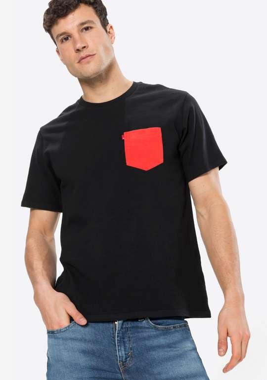 Levi's Shirt Sunset Herren Shirt in Schwarz-Rot für 12,67€ inkl. Versand (statt 20€)