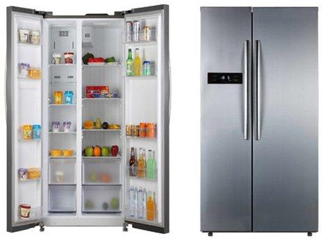 Side By Side Kühlschrank Deals : Pkm sbs602.4a nf 602 liter side by side kühlschrank füru2026