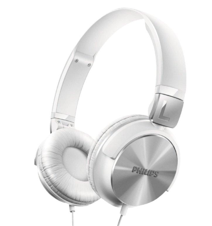 Philips SHL3165WT/00 Bügelkopfhörer mit DJ Monitoring für 11€ (statt 23€)