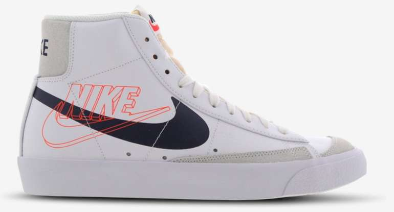 """Nike Blazer Mid 77 Herren Sneaker in """"white-blue-red"""" für 69,99€ inkl. Versand (statt 99€)"""