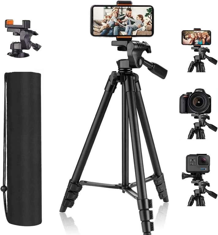 TTTTTTT Handy- und Kamera Stativ (3kg, 136cm) für 11,20€ inkl. Versand (statt 13€)