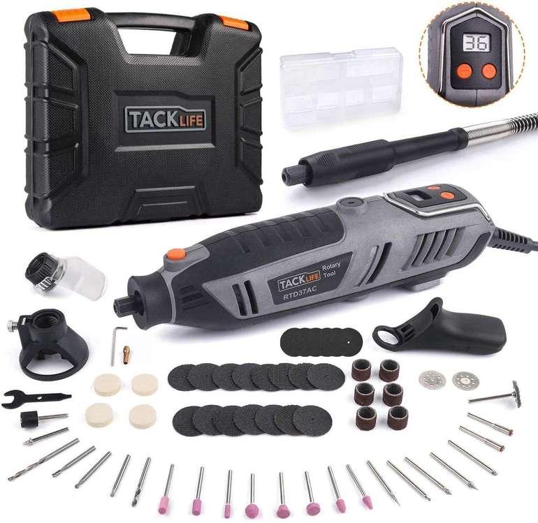 Tacklife RTD37AC Multifunktionswerkzeug (200 Watt, 65-tlg. Zubehör) für 37,49€ inkl. Versand (statt 50€)