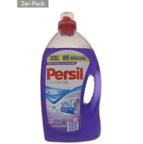 Persil Colorwaschmittel Lavendel 2er Pack XXL (130 WL) für 24,99€ inkl. Versand